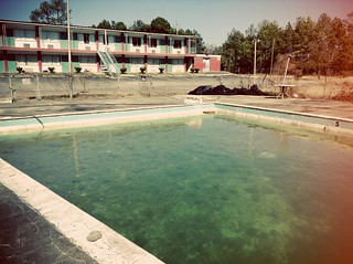 Abandoned Motel With Pool