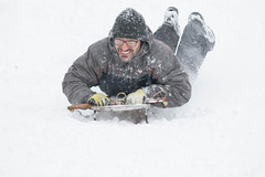 Sledding in Arlington-7.jpg (thekidfromcrumlin) Tags: snow arlington virginia unitedstates va sledding hbwoodlawnsecondaryprogram
