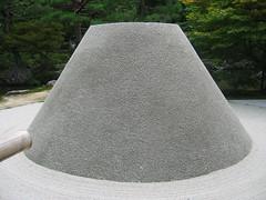 Ginkaku-ji Mount Fuji Sand Pile