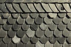 Haut aus Stein (Wo Mue Ov) Tags: wall grey licht wand grau schatten hauswand schiefer