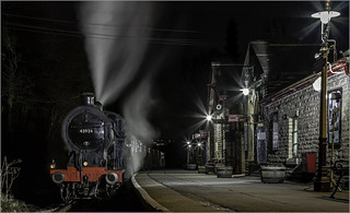 10956 Night Arrival at Haworth