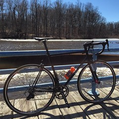 Ahhhhh! Back on the bike, oh how I've missed thee!  #weavercycleworks #custombicycles #steelisreal