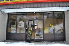 dollargeneral2 (xandai) Tags: county snow storm building retail shopping discount kentucky snowstorm damage stormdamage dollarstore harlan collapsed dollargeneral justified discountstore harlanky justifiedfx harlanco