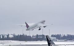 A7-BFA (11) (Christoffer Andersen) Tags: airplane boeing osl b777f qatarcargo