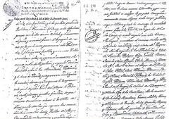 Designació de poblacions on hauran de residir els gitanos. 1746