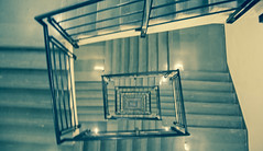 stairs ([s e l v i n]) Tags: light india abstract building stairs stair bombay mumbai ©selvin