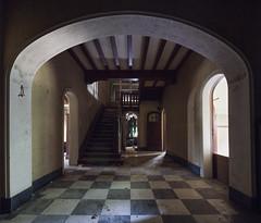 (Subversive Photography) Tags: house abandoned home doors belgium decay hallway tiles urbanexploration chateau manor derelict urbex danielbarter