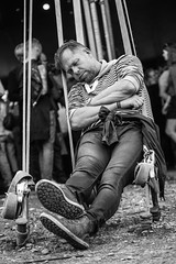 People: in the ropes (' A r t ') Tags: arthurcammelbeeck avalon cammelbeeck denmark outdoor raw roskildefestival roskildefestival2016 artcammelbeeck bw blackandwhite camelendk concert intheropes mono monochrome people sleep tired wwwflickrcomphotosartcammelbeeck