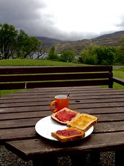Morning in Connemara lake (simonnope) Tags: morning ireland colour coffee breakfast landscape connemara