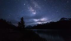 Waterfowl Galaxy (Bun Lee) Tags: landscape astrophotography bunlee bunleephotography canada galactic galaxy milkyway mountain mountains nature nightskies nightscapes starrynight stars universe water