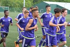Season 2016-2017: July 22, 2016 Training U17