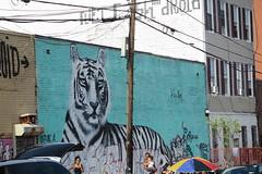 IMG_4349 (Mud Boy) Tags: nyc newyork brooklyn bushwick summer streetscene hydrant graffiti firehydrant streetart mural
