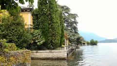 Edificio sul lago (Dongo) (andreaciapetti) Tags: lake como shore building