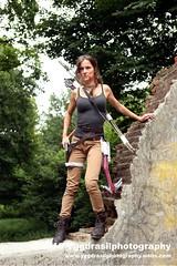 Tomb Raider Shoot with Annick 27 (berserker244) Tags: yggdrasilphotography60072016 guerrillaphotography yggdrasilphotography evandijk annick annickscosplay laracroft tombraider riseofthetombraider grebbeberg rhenen