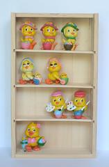 """Colecção """"Coelhos e Pintos"""" - Maia & Borges (vintage.dolls) Tags: vintage toys pvc rubber colecção coelhos pintos maia borges made portugal"""