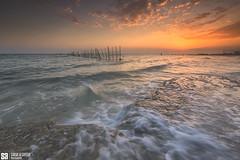 Kuwait - Fintas - Sunrise And Tide II (Sarah Al-Sayegh Photography | www.salsayegh.com) Tags: fintas kuwait sunrise canoneos5dmarkiii leefilters leefilter canon photography beach tide landscape clouds tides sarahhalsayeghphotography infosalsayeghcom wwwsalsayeghcom fishtrap