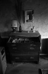 Nitt Witt Ridge, Cambria, CA (Mason Shefa) Tags: honeywell pentax spotmatic sp iia super takumar fomapan 100 rodinal canoscan 8800f mason shefa black white film coast california rondinax nitt witt ridge cambria abandoned dilapidated