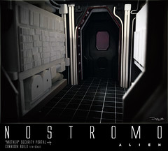 NOSTROMO-Mother-corridor-19 (sith_fire30) Tags: alien nostromo mother muthur6000 sulaco prometheus covenant dallas ash ripley chamber corridor bridge weyland yutani scratch building model making custom action figures toys diorama art sithfire30 dayton allen