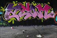 Atom (Alex Ellison) Tags: northlondon mhb urban graffiti graff halloffame hof ctr cityrollers atom boobs