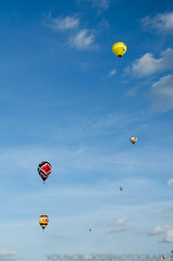 JKY_8770 (listentilithz) Tags: balloonfest middletown 2016 balloonglow hotairballoon airheadssmileyface jeep fireworks nikon d7000 1755 skydiver