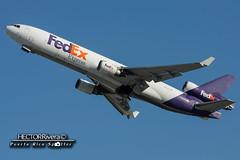 N607FE (Hector A Rivera Valentin) Tags: n607fe fedex boeing mcdonnelldouglas md11f los angeles lax klax international airport