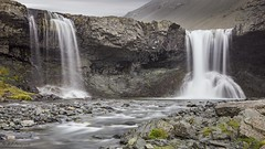 Two (R - P Photography) Tags: waterfall water waterfalls cascade cascades longexposure poselongue landscape paysage nature iceland islande