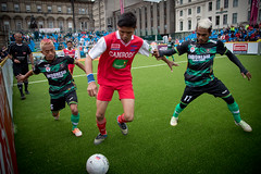 Homeless World Cup 2016, George Square, Glasgow, Scotland - 12 July 2016 (hfcaustralia) Tags: scotland glasgow soccer poland streetsoccer homelessworldcup aballcanchangetheworld hwc2016 thisgameisreal