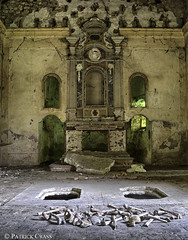 Bones Church (Patrick Crass Photography) Tags: urban abandoned church lost exploring kirche forgotten bones rotten derelict urbex knochen lostplace forgottenplace verlasseneorte