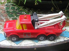 Falck Zonen Pick-up Truck (streamer020nl) Tags: matchbox lesney super kings superkings k11 tow truck wreck pickup falck zonen denmark danmark red england diecast metal toys spielwaren jouets 1970s