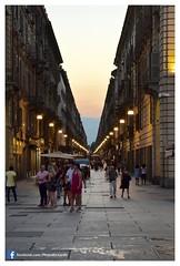 Torino by Night - Luglio 2016 Riccardo Evola 03 (Riccardo Evola) Tags: torino turin night city po murazzi piazzacastello palazzomadama piazzasancarlo piemonte turismo
