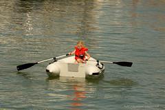 Belgian coast (Natali Antonovich) Tags: belgiancoast portrait boat children childhood mood character water sea northsea oostende seasideresort seaside seaboard seashore belgium belgique belgie