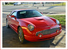 2005 Retro Ford Thunderbird (sjb4photos) Tags: brownsrootbeer southlyon