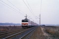 15058  Fegersheim  04.03.93 (w. + h. brutzer) Tags: fegersheim eisenbahn eisenbahnen train trains frankreich france railway elok eloks lokomotive locomotive zug 15000 sncf webru analog nikon
