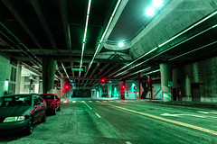 () Tags: los angeles night neon city underground