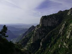 Montserrat (lamnn92) Tags: montserrat spain barcelona mountain monastery benedictineabbey santamariademontserrat sky clouds crossdesantmiquel nature travel panasonic fz1000