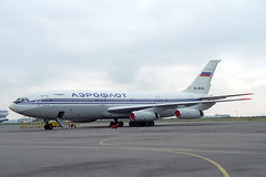 RA-86145 Ilyushin IL-86 Aeroflot (pslg05896) Tags: svo uuee moscow sheremetyevo russia ra86145 ilyushin il86 aeroflot krasair