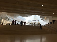 IMG_0498 (gundust) Tags: nyc ny usa september 2016 newyork newyorkcity manhattan architecture wtc worldtradecenter calatrava station path wtctransportationhub transportationhub void oculus wings sculptural verticality white steel glass lighting sun alignment 911 september11 memorial