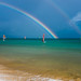 Windsurfing under the rainbow