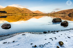 An Icy Day on Loch Awe! (alistaircassidy) Tags: blue lake snow mountains ice reflections scotland nikon rocks frost stones argyll freezing tokina loch icicles lochawe