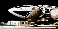 Eagle 5 Preparing for Take Off (ManOfYorkshire) Tags: fiction moon tv ship eagle 5 space pad craft science 1999 anderson scifi 1975 series alpha moonbase blacksun takeoff episode transporter gerry space1999