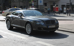 Bulgaria (Sofia) - Bentley Continental GT Speed (PrincepsLS) Tags: berlin speed germany sofia continental plate bulgaria license gt bentley spotting bulgarian