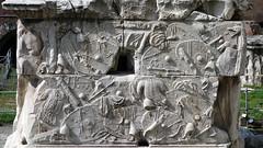 Trajan's Column, base bas relief