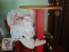 Noelito.... (Ma Ma Marie Artcountry) Tags: natal navidad noel papainoel natale xmasornament xmasdecoration portapanetone