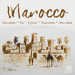 Cartolina dal Marocco (andrea.prave) Tags: paint tour morocco cover fez maroc marocco disegno fes sud copertina aitbenhaddou   almamlaka   visitmorocco almaghribiyya tourdelmarocco