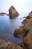 La mar menuda (alimoche67) Tags: españa minolta sony playa girona 99 catalunya alpha costabrava slt gerona tossademar largaexposicion translucentmirror josejurado