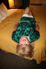 new107096-IMG_5864t (Misscherieamor) Tags: tv feminine cd motel tgirl transgender mature sissy tranny transvestite crossdress ts gurl tg travestis prettydress travesti travestie m2f onbed stockingtops xdresser tgurl slipshowing gartersshowing