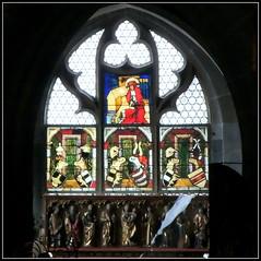 Ulmer Münster (HOR-BS 696) Tags: kathedrale kirche cathédrale architektur eglise ulm curch wasserspeier sakralbauten ulmermünster farbglas ulmdonau berndsontheimer