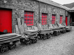 Welsh Slate Museum (Eeee Bi Gum) Tags: windows wales slate llanberis nationalmuseum gwynedd industrialheritage slatemuseum