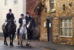 Cottesmore Hunt Oakham High Street Martin Brookes Rutland England Christmas  Boxing Day 2013 (3) (@oakhamuk) Tags: christmas horses boxingday rutland hounds cuttsclose 2013 martinbrookes cottesmorehunt huntoakham