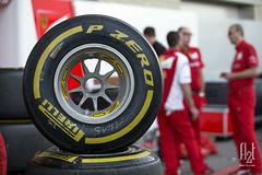Pirelli P Zero Softs, OZ wheels (Flat-12) Tags: oz f1 formulaone usgp formula1 gallery2 pirelli 2014 cota scuderiaferrari unitedstatesgrandprix jimhunter flat12 motorsportphotography circuitoftheamericas flat12com
